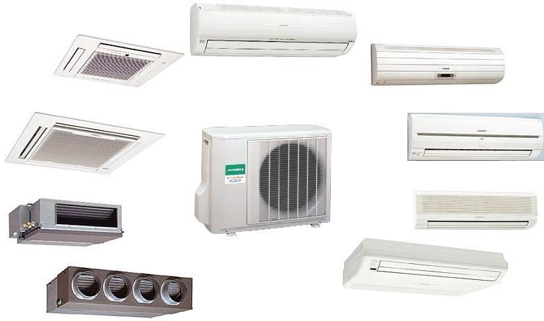 Примеры различных моделей кондиционеров